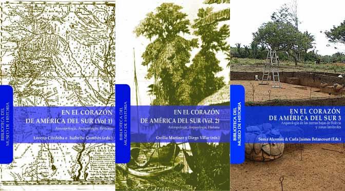 Biblioteca del Museo de Historia: En el corazón de América del Sur – 3 volúmenes