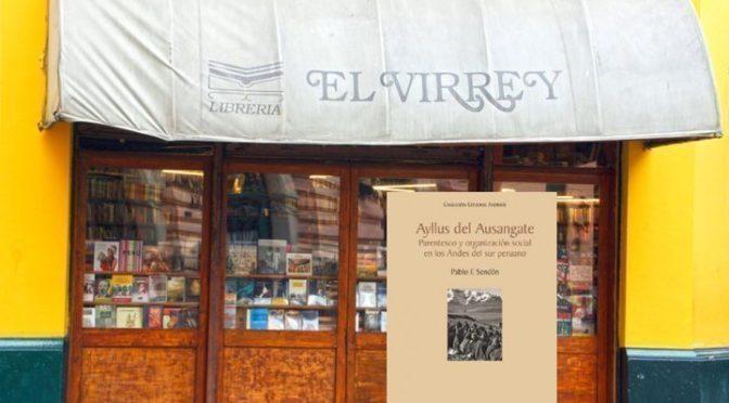 26/07: Pablo Sendón en la librería El Virrey, Lima