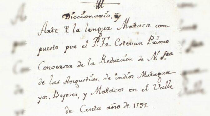 Documento del Archivo Franciscano de Tarija ha sido incluido en la Memoria del Mundo de la Unesco