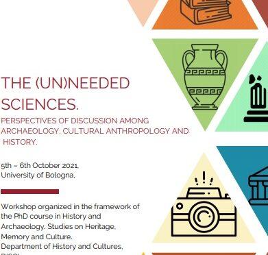 INVITACIÓN AL WORKSHOP La scienza (in)utile. Prospettive di riflessione e confronto tra archeologia, antropologia culturale e storia